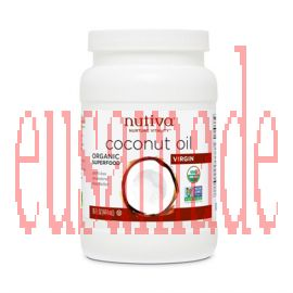 Nutiva Organic Coconut Oil 444 ml