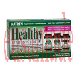 Natren Healthy Start System D/F 3 x 30 caps