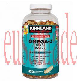 Kirkland Signature Super Concentrate Omega-3 Fish Oil 1200 mg 330 softgels