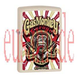 Zippo Lighter Gas Monkey Garage 29057-000003-Z Made In USA