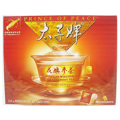 Prince of Peace American Ginseng Tea 60dags
